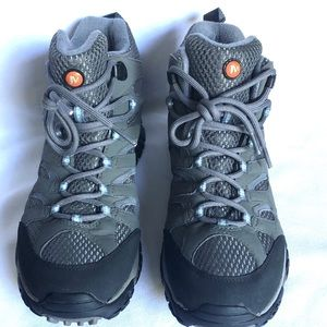 Merrell Periwinkle Gore Tex Hiking Boots Size 9